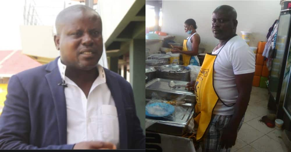 From hawking toffees to Tagoe's Kitchen: Meet the chief chef at Accra Sports Stadium