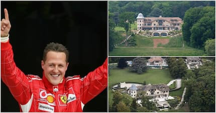 Inside F1 legend Michael Schumacher's multi-million cedi mansion (Photos)