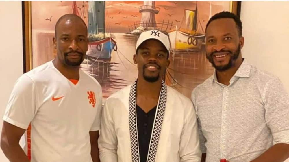3 friends who used to wash plates in South Africa 12yrs ago succeed, opens their restaurant in VI