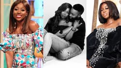 Pre-wedding photo of actress Sika Osei and handsome fiancé drops online; celebs jubilate