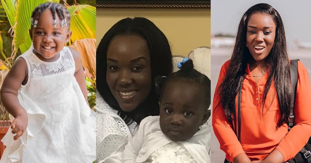 Louisa: Stonebwoy's wife drops childhood photo looking like their daughter Jidula