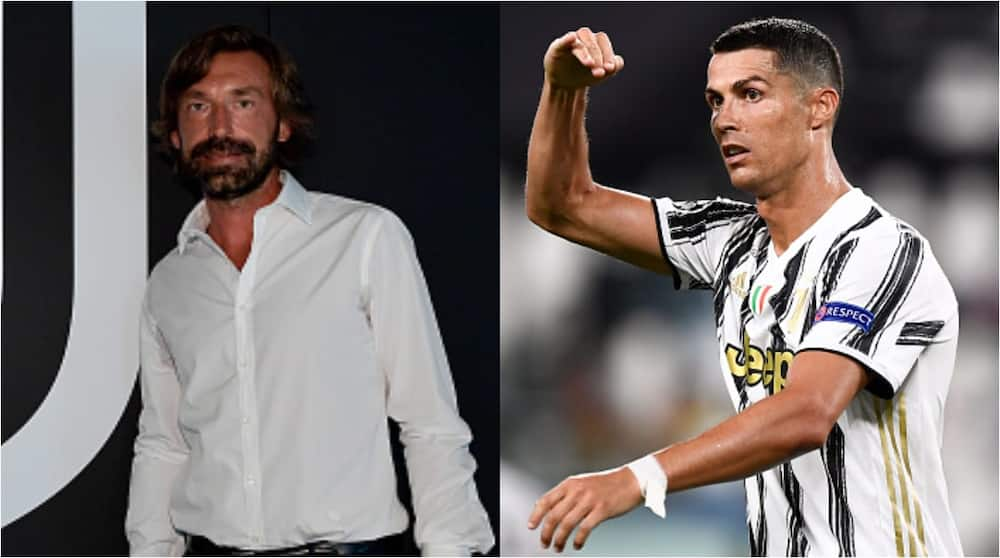 Cristiano Ronaldo tells new Juventus coach Pirlo they need critical thinking