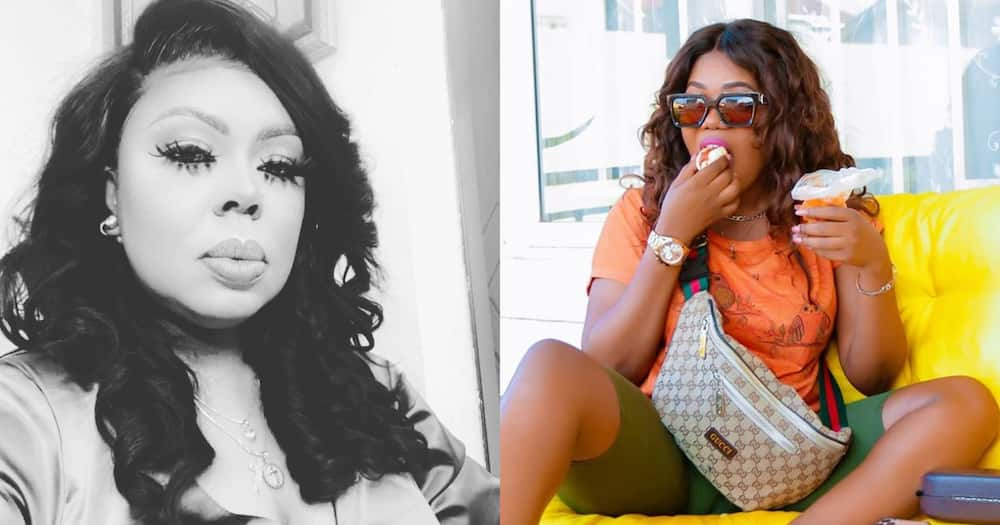 Mzbel: Singer Ignores Afia Schwar's call for reconciliation; says she won't trade her peace