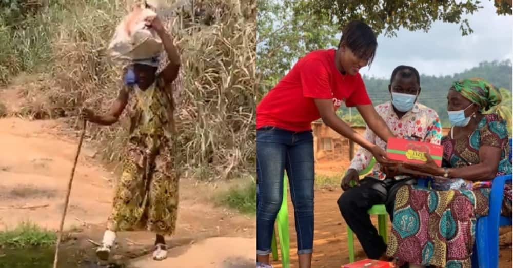 Meet 74-year-old lady in E/R who walks with stick 4 hours each day to farm