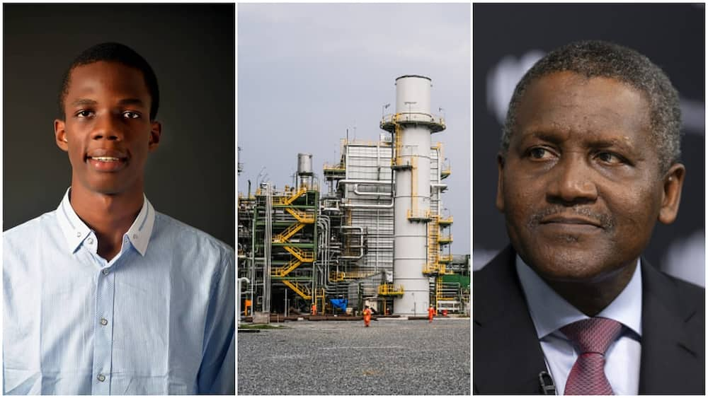 I would one day work for Dangote - Young Nigeian man says with faith, positions himself