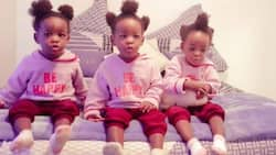 Dad proudly shows off his triplets in beautiful photos, many react with sweet messages