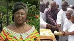 Bawumia, others celebrate Kufuor's wife on her 85th birthday; photos drop