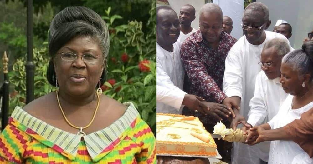 Theresa Kufuor: Bawumia, Others celebrate former first lady on her 85th birthday (photo)