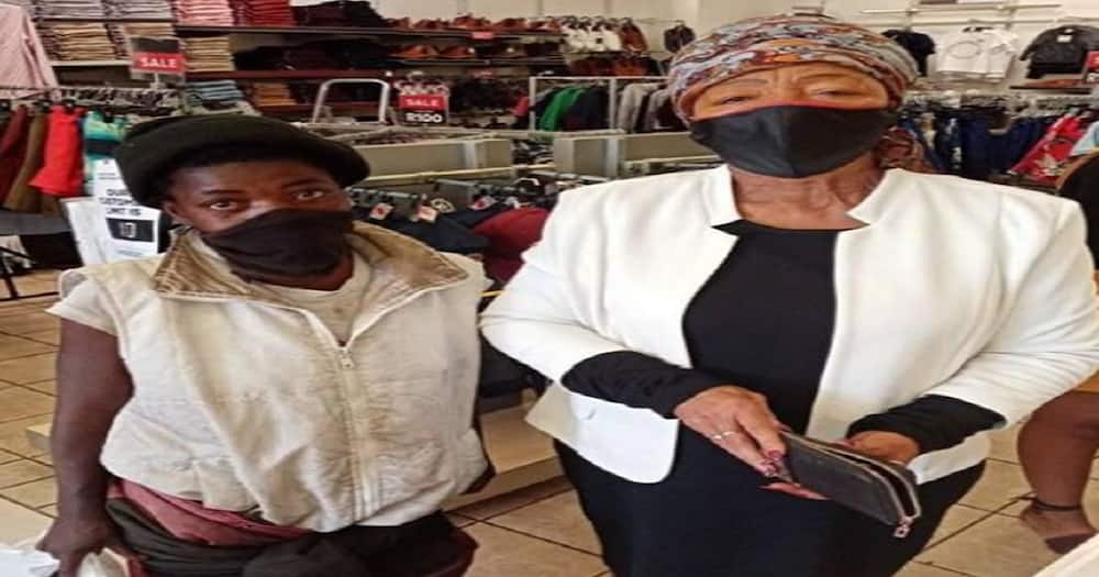 Lady takes homeless girl clothes shopping and melts the hearts of many.