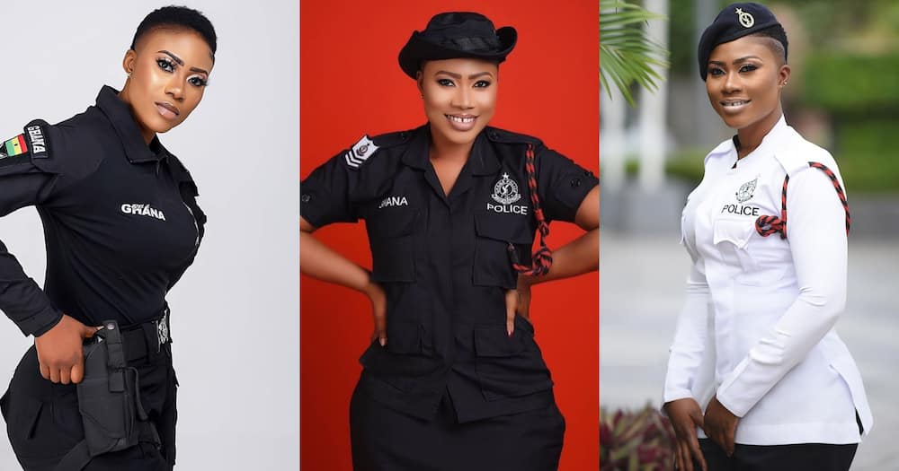 Maya: Ghana's 'most beautiful' officer wows fans with new photo