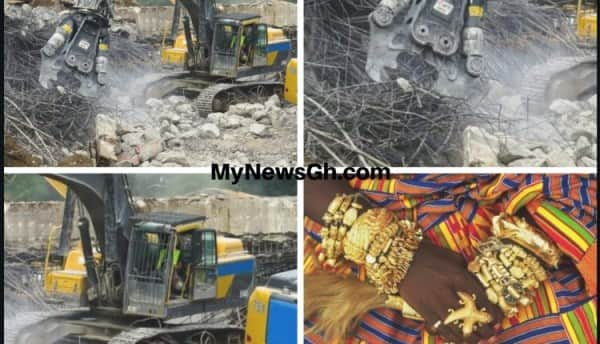 Images of destroyed properties