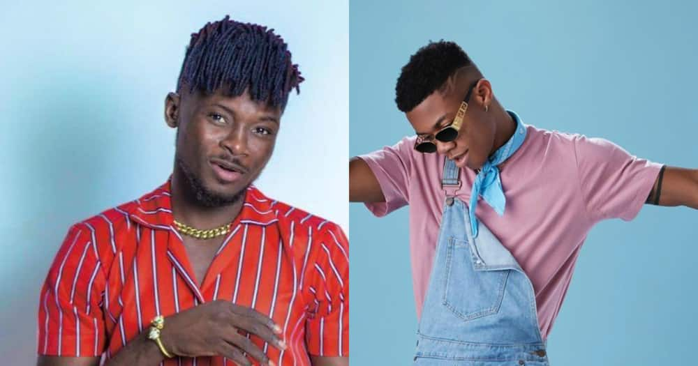 Kuami Eugene punches KiDi: he makes people think he is the good one