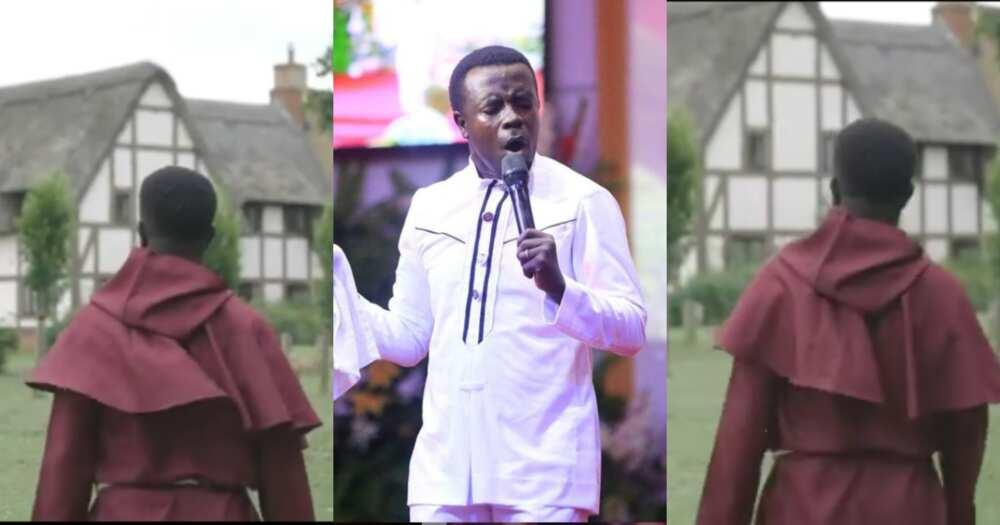 Funny video drops as barking dogs interrupt gospel singer OJ's music video shoot