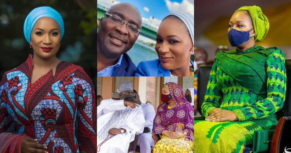 Bawumia pens romantic message to wife Samira as she marks her 41st b'day
