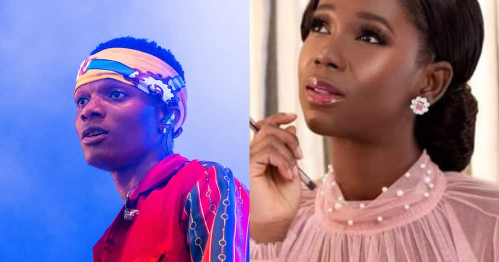 Ama K. Abebrese produced WizKid's virtual concert over the weekend