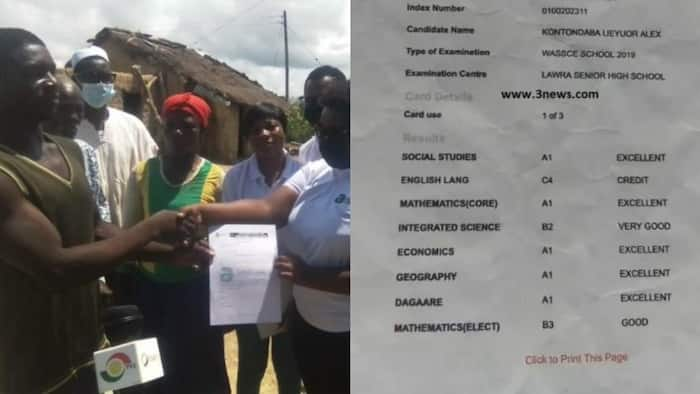 Best student in Jirapa serving on farms due to lack of funds gets full scholarship