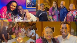 Beautiful videos drop as actress Vivian Jill holds her 38th birthday party with her father and siblings