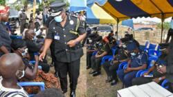 Sad photos drop as IGP visits family of young policeman killed in Korle-Bu Bullion van robbery