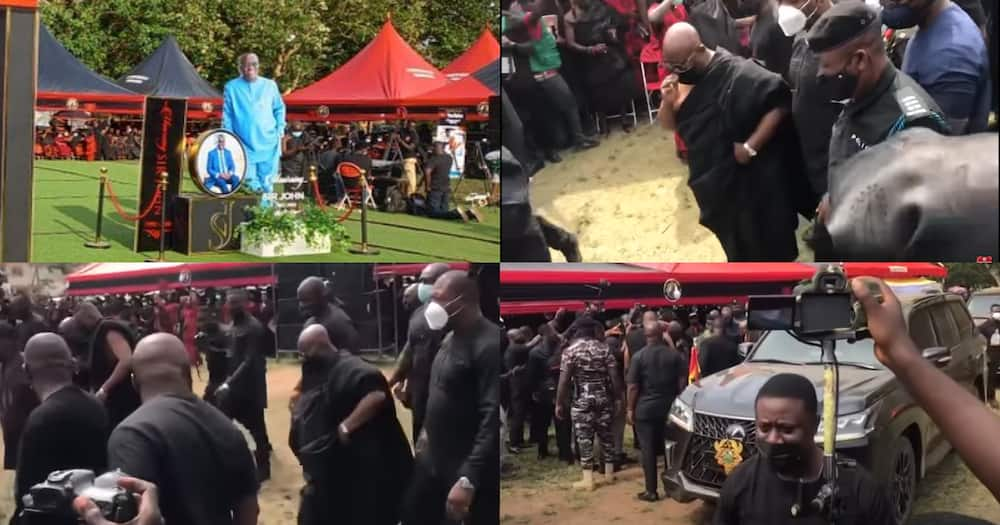 Sir John: Video Of How Akufo-Addo Paid His Last Respect To NPP Stalwart