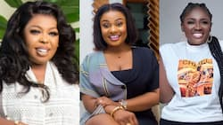 Afia Schwar and Tracey Boakye blasted 15 times for doing 'ahushesh3' on Dr Kwaku Oteng's new wife with new photo