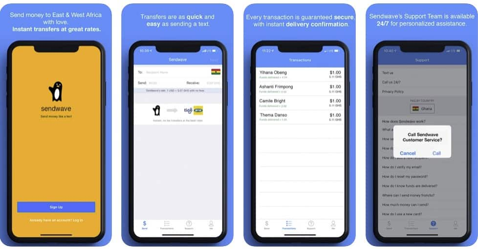Wave money transfer: how it works, limits, charges for sending to Ghana
