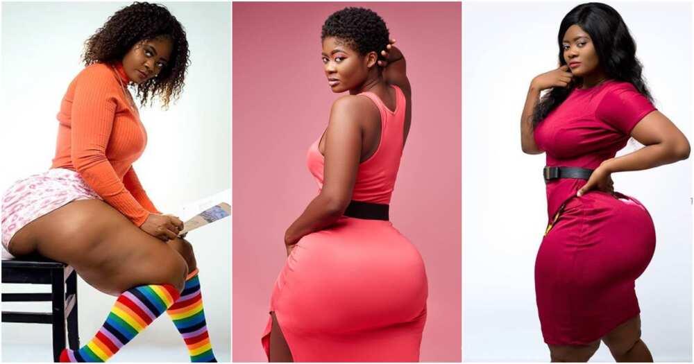 Sheena Dzigbordi Gakpe: 11 photos of the Ewe girl causing confusion on social media