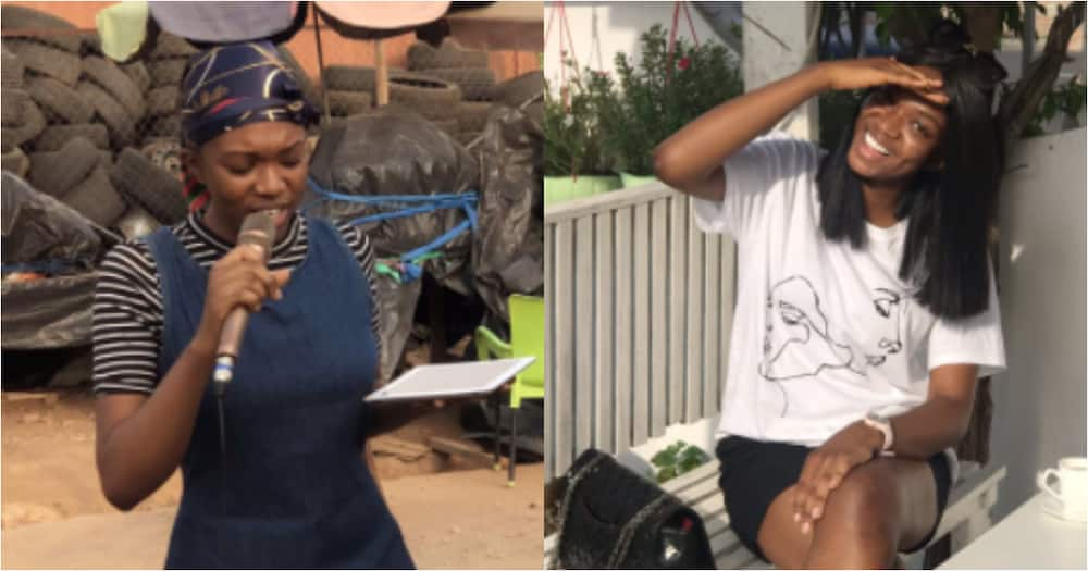 Slaying for Christ: Pretty lady spends holiday preaching, visits the Spa same day (Photos)
