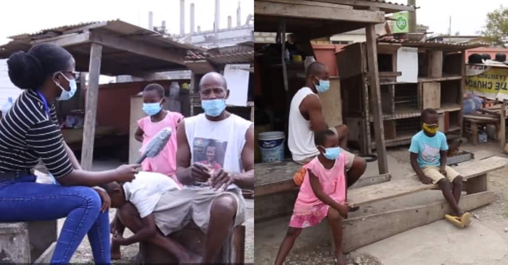 Ghanaian father & 4 kids who stay by public toilet become victims of explosion