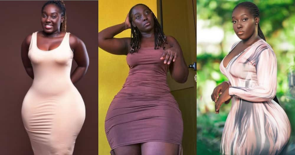 Dee Boatemaa: Meet the Ghanaian model causing a stir with her banging hourglass body