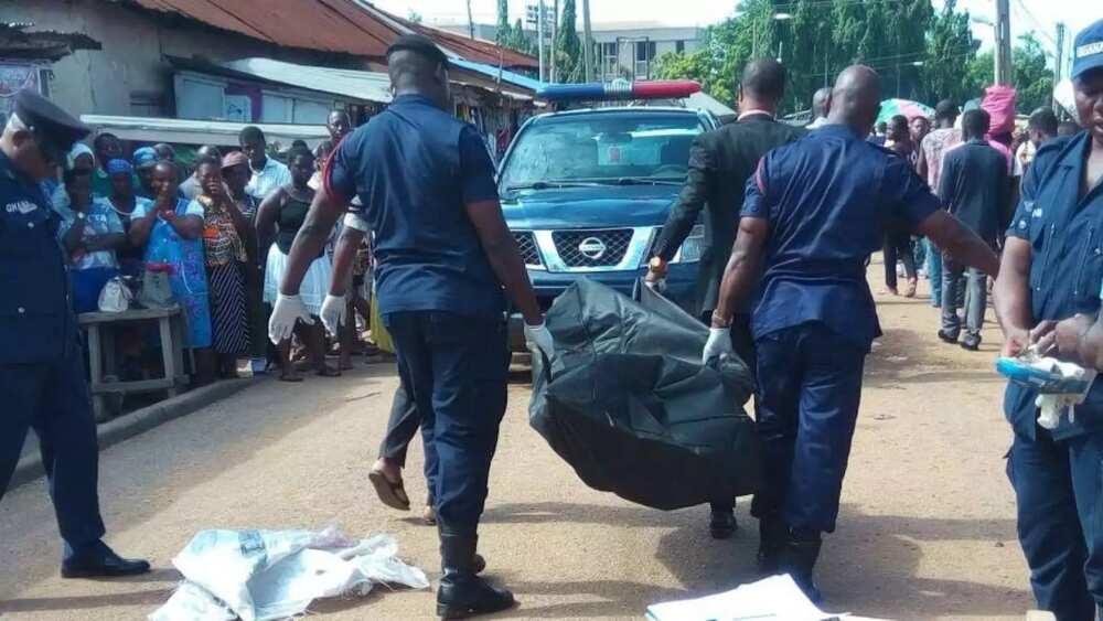Tears flow as car runs over and kills popular Ghana National College teacher