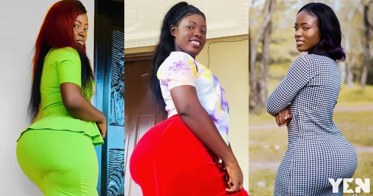 """7 """"heavy tundra"""" photos of pretty Ghanaian lady that will push Moesha away"""