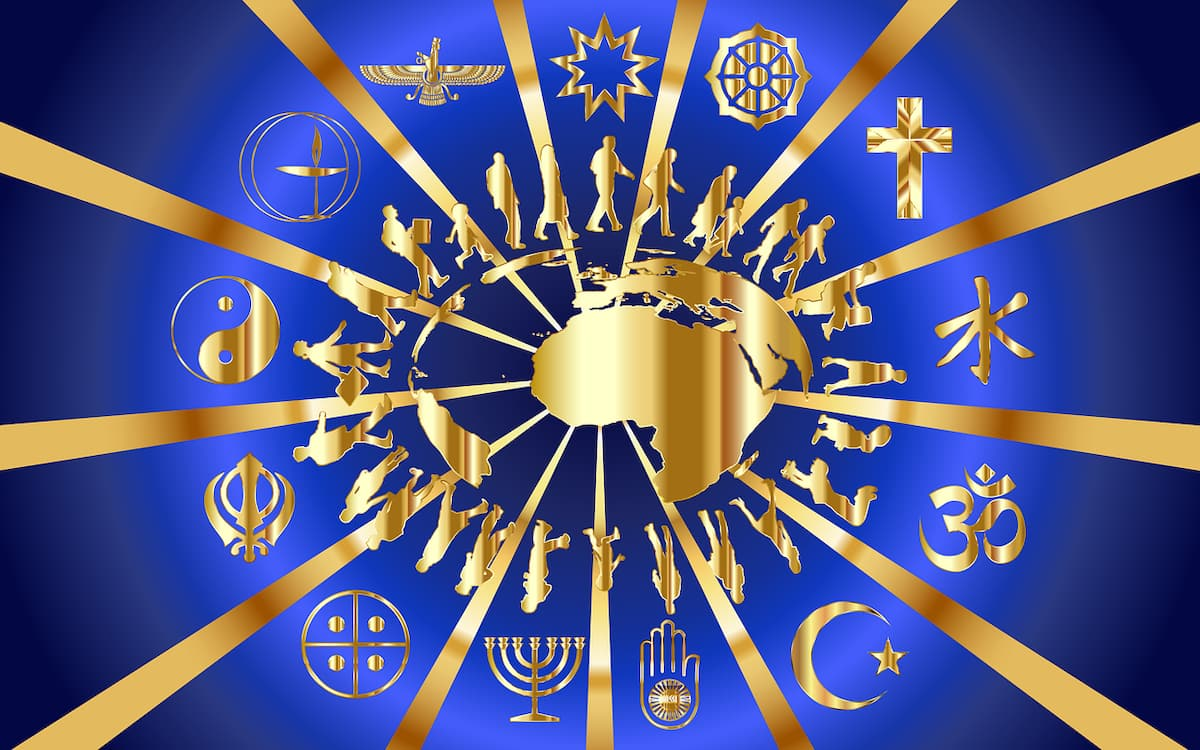 religions in the world, number of religions in the world