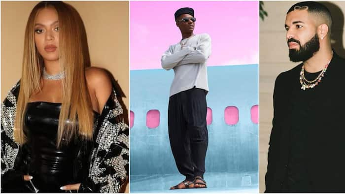 """Wizkid tagged """"The guy Drake and Beyoncé call up whenever they need a hit"""" by US Mag"""