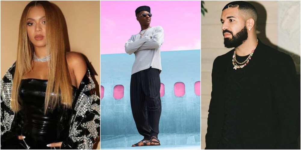 Wizkid, Drake and Beyoncé