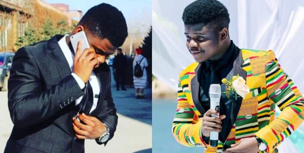 Wode Maya: Top African Youtuber Posts Photos of Himself he Claims to have been taken when he had no Money