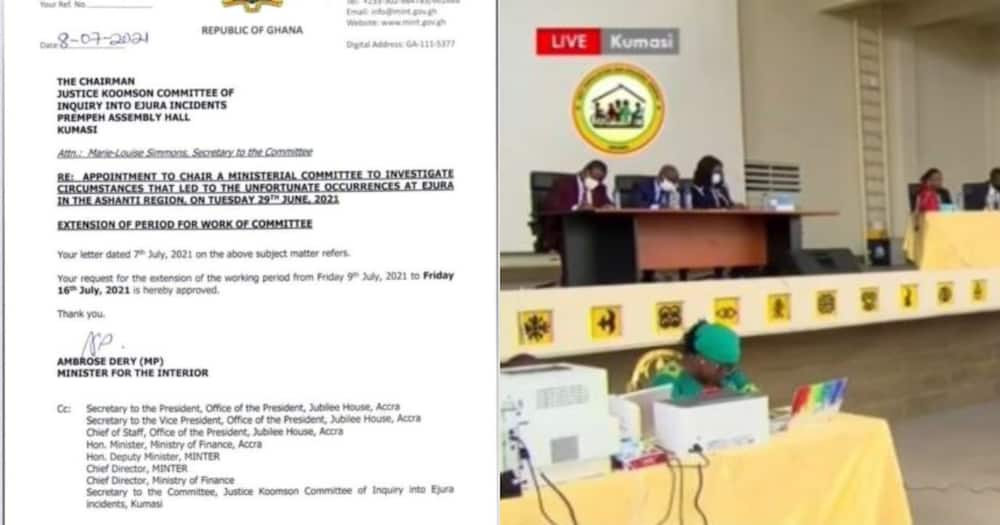 Ejura Killings probe: Ambrose Dery extends deadline for submission of Committee's report