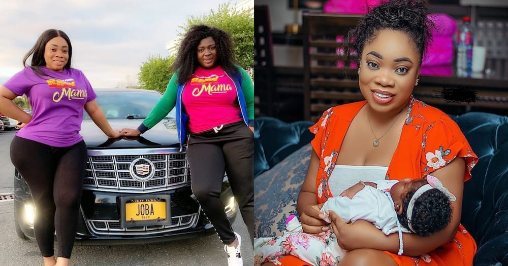 """""""I am broke, and I rent"""" - Moesha says after Gloria Kani leaked what Tracey Boakye said about her"""
