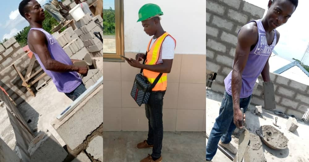 Ghanaian who failed to become doctor about to bag master's degree with masonry