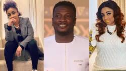 """You go bring matter oo"" - Asamoah Gyan's wife Gifty replies fan who callled her Mrs. Gyan over her beautiful photo"