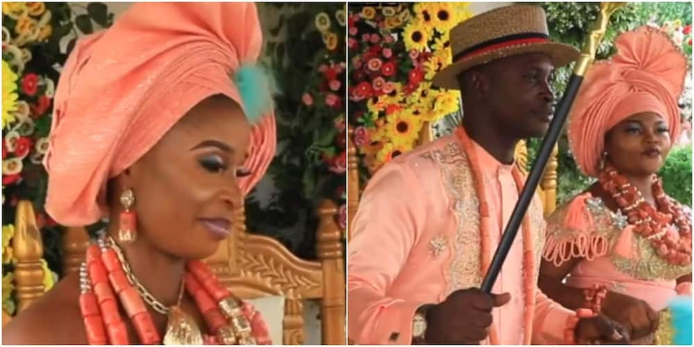 Nigerian man who married 2 wives on same day finally reveals why he did it, the women speak