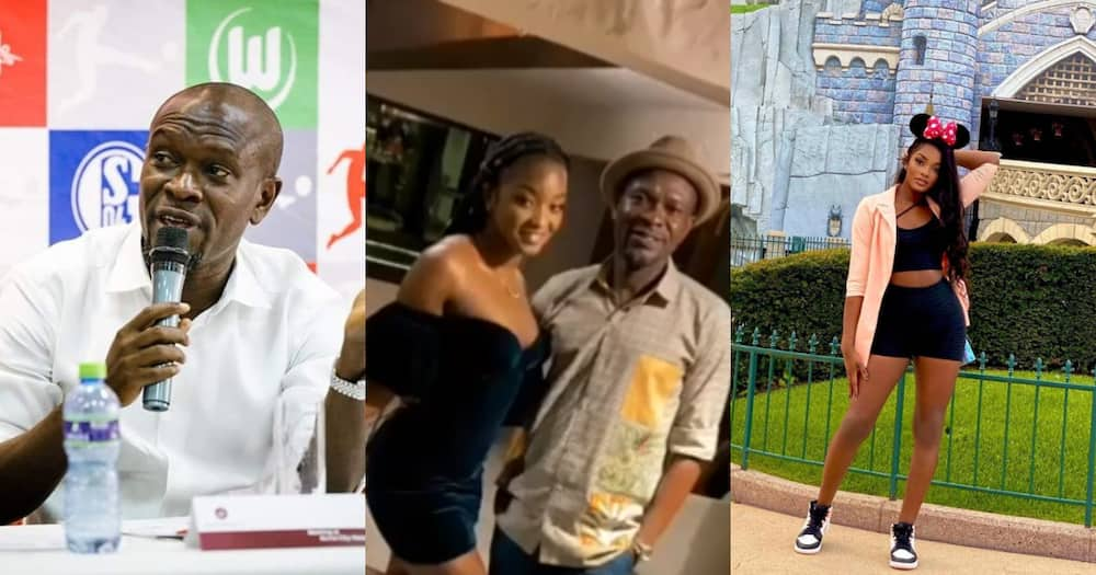 Video drops as C.K Akonnor chills with daughter after losing Black Stars job