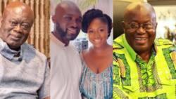 5 beautiful photos from wedding of Akufo-Addo's daughter and Kofi Jumah's son; simple yet splendid