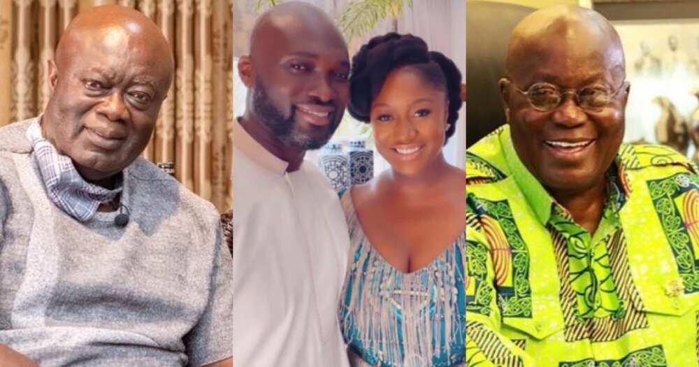Akufo-Addo's Daughter Marries: 5 Beautiful Photos from Edwina and Kofi Jumah's son's Wedding