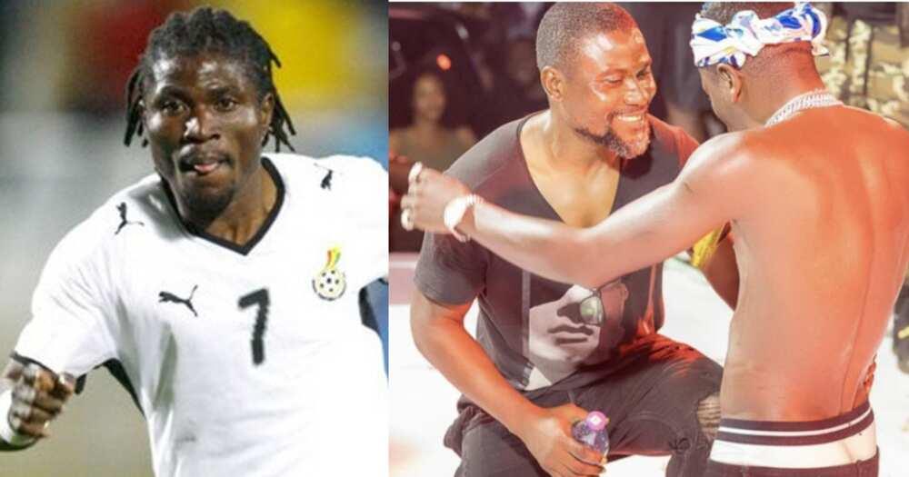 Ghana legend Laryea Kingston joins Shatta Wale on stage at 'Teshie We Dey' concert