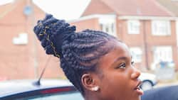 10 best Ghana braids ponytail styles you should rock in 2021