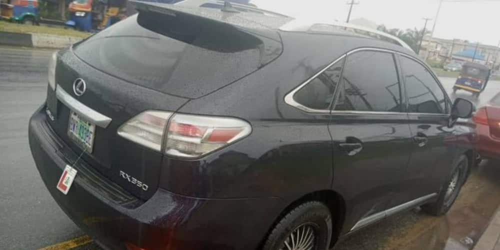 Nigerian man loses Lexus jeep after using it to place bet