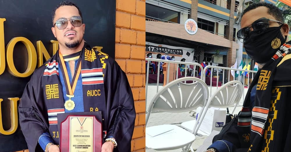 Van Vicker: I would have graduated earlier if free SHS was available in my time