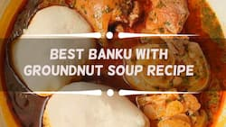 Best banku with groundnut soup recipe everyone should try