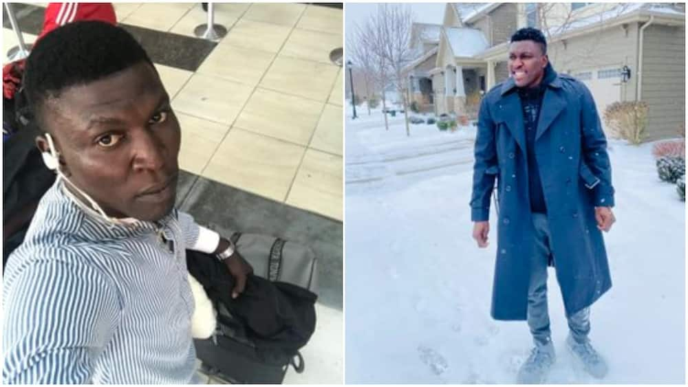 You look so fresh: Young man stirs reactions with photos taken aborad years after leaving Nigeria