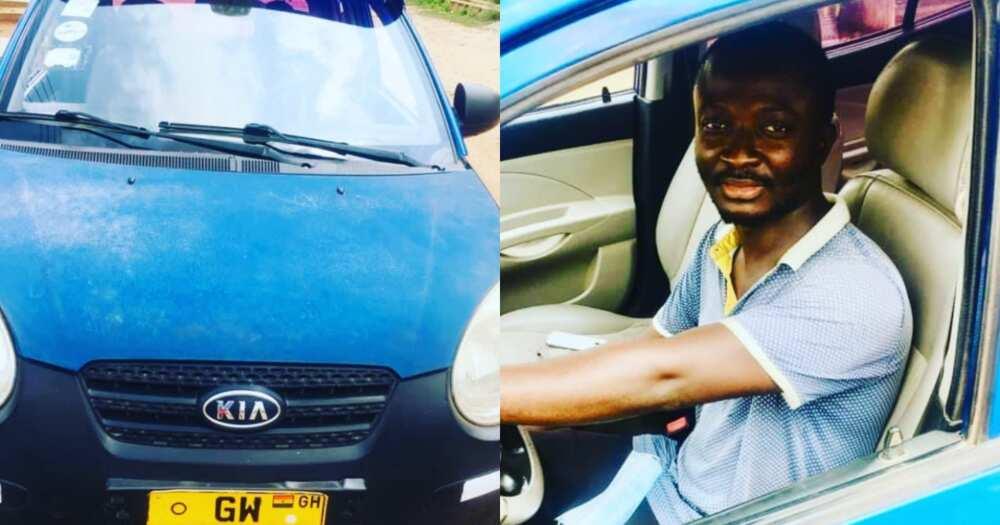 Honest taxi driver returns phone after passenger left it in his car, gets massive praises